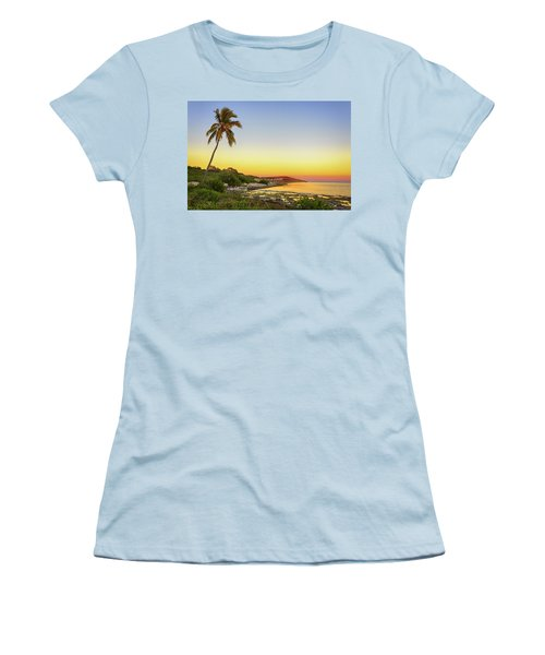 Florida Keys Sunset Women's T-Shirt (Athletic Fit)