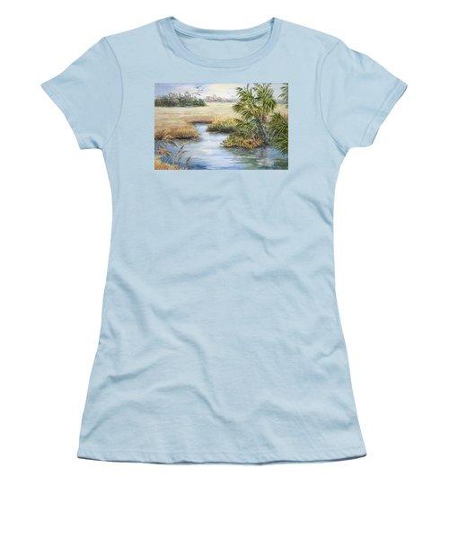 Florida Wilderness IIi Women's T-Shirt (Junior Cut) by Roxanne Tobaison