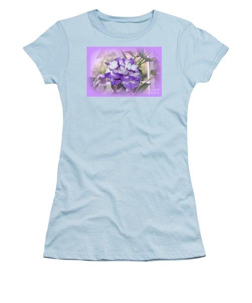 Flower In A Haze Women's T-Shirt (Athletic Fit)