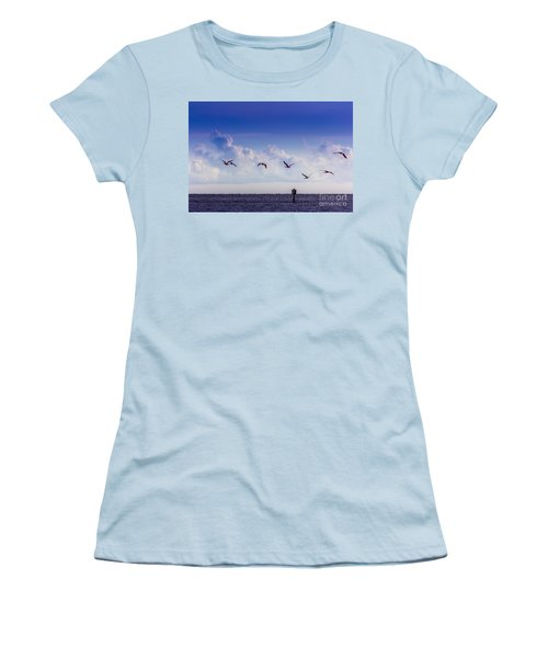 Flying Free Women's T-Shirt (Athletic Fit)