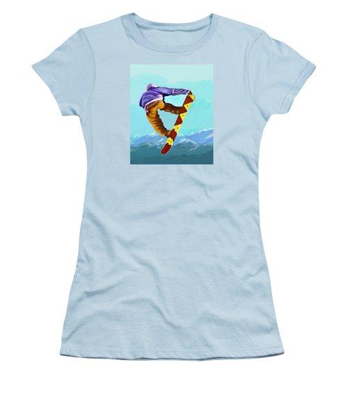 Flying High Women's T-Shirt (Junior Cut) by Jeanne Fischer