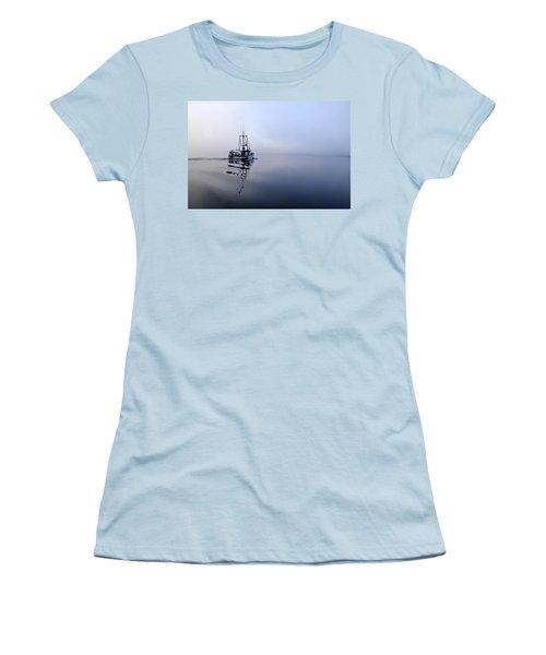 Foggy Women's T-Shirt (Junior Cut) by Cathy Mahnke