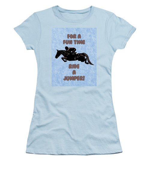 For A Fun Time Women's T-Shirt (Athletic Fit)