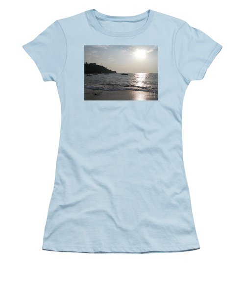 Fort Aguada Beach Women's T-Shirt (Athletic Fit)