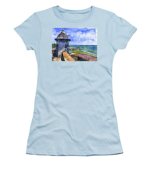 Fort San Juan Puerto Rico Women's T-Shirt (Junior Cut)