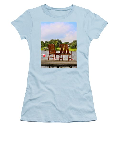 Fourth Of July Vacation Women's T-Shirt (Athletic Fit)