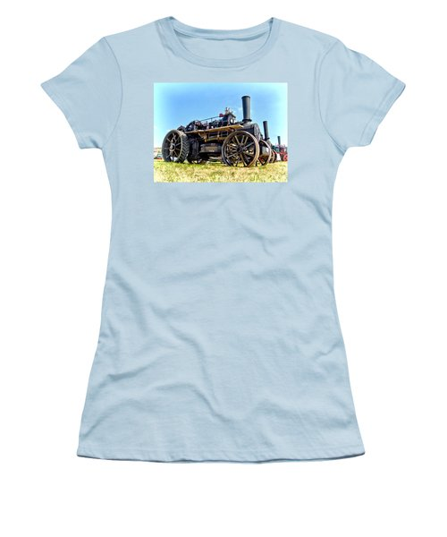Fowler Ploughing Engine Women's T-Shirt (Athletic Fit)