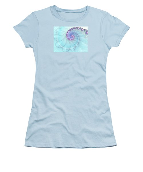 Fractal 17 Women's T-Shirt (Junior Cut) by Lena Auxier