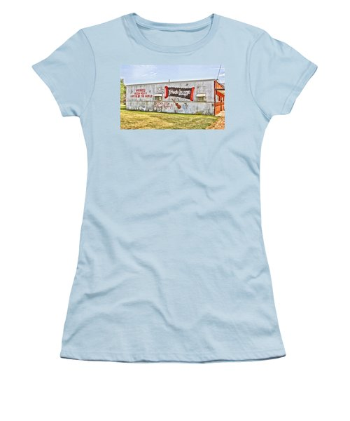 Fred's Lounge Women's T-Shirt (Athletic Fit)