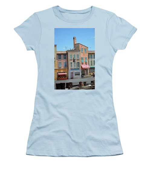 Women's T-Shirt (Junior Cut) featuring the photograph Freefall by Robert Meanor
