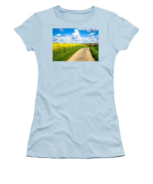 French Countryside Women's T-Shirt (Athletic Fit)