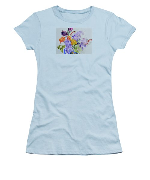 From Grammy's Garden Women's T-Shirt (Junior Cut) by Beverley Harper Tinsley