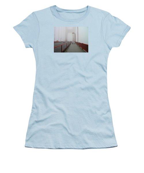 G. G. Bridge Walking Women's T-Shirt (Junior Cut) by Oleg Zavarzin