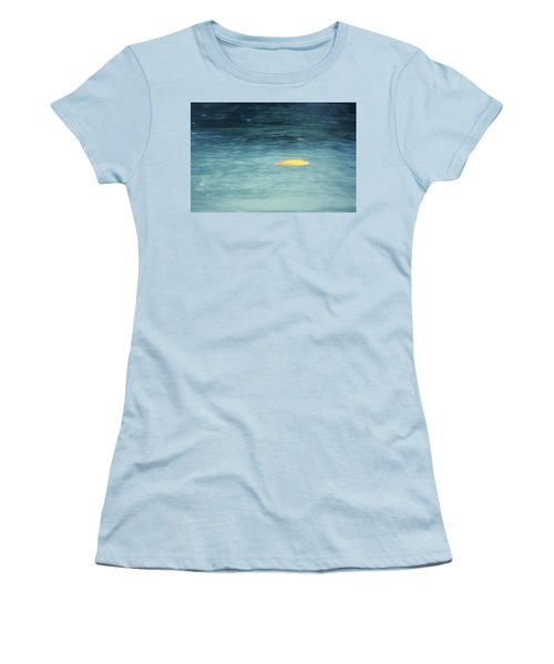 Women's T-Shirt (Junior Cut) featuring the photograph Golden Reflections by Melanie Lankford Photography