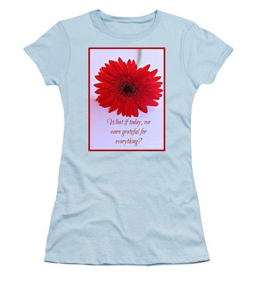 Grateful Women's T-Shirt (Athletic Fit)