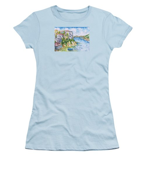 Greek Playground  Women's T-Shirt (Athletic Fit)