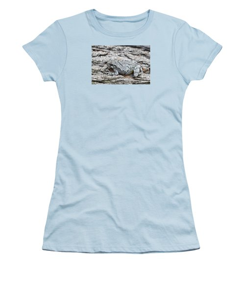 Women's T-Shirt (Junior Cut) featuring the photograph Cope's Gray Tree Frog by Judy Whitton