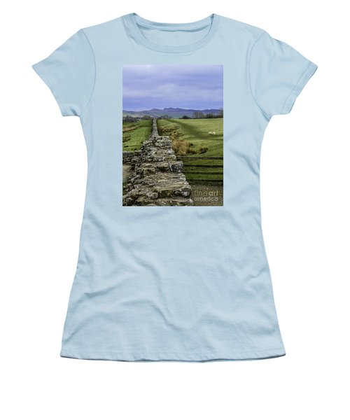 Hadrian's Wall Women's T-Shirt (Athletic Fit)