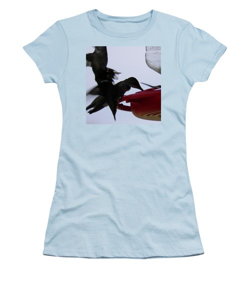 Women's T-Shirt (Junior Cut) featuring the photograph Happy Hour by Nick Kirby