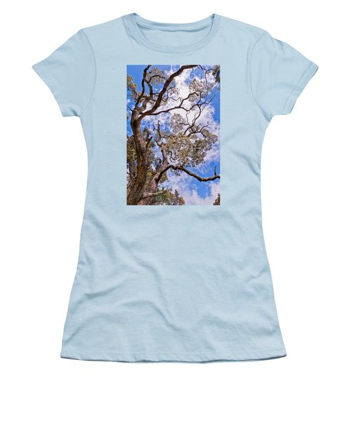 Hawaiian Sky Women's T-Shirt (Junior Cut) by Jim Thompson