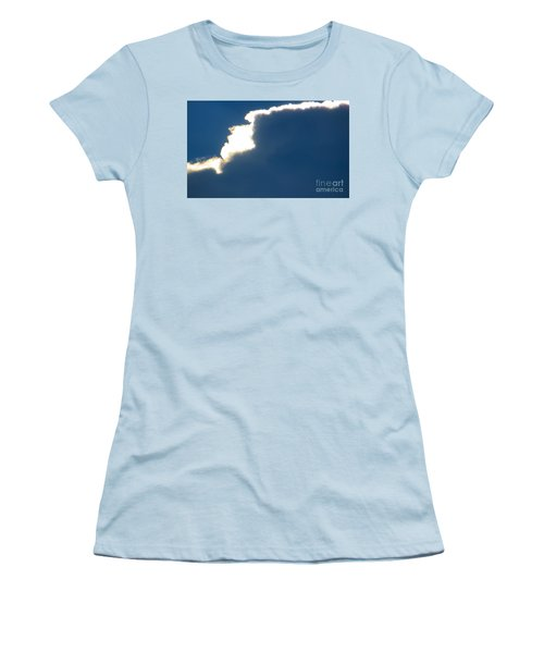 Women's T-Shirt (Junior Cut) featuring the photograph Head In The Clouds by Joy Hardee