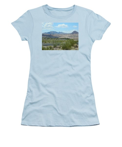 Women's T-Shirt (Junior Cut) featuring the photograph Henderson Nevada Desert by Emmy Marie Vickers
