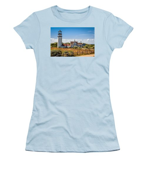 Highland Light Women's T-Shirt (Junior Cut) by Brian Caldwell