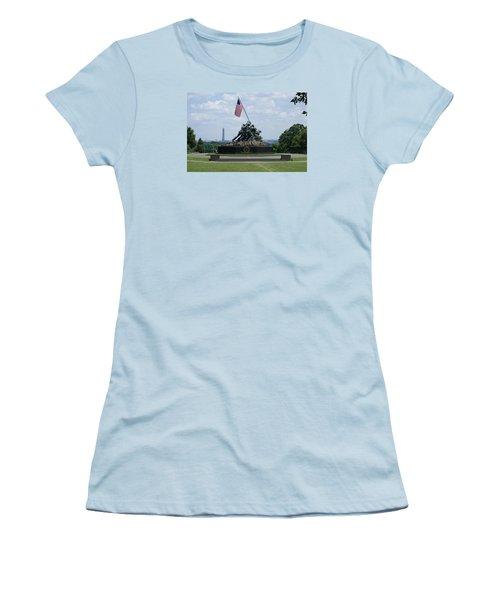 Iwo Jima Women's T-Shirt (Junior Cut) by Heidi Poulin