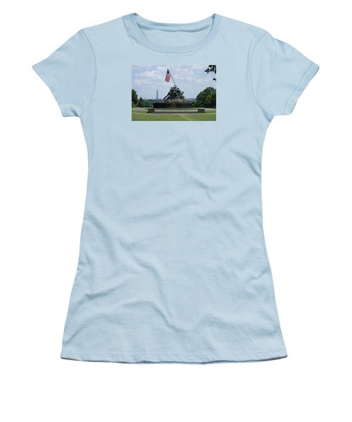Iwo Jima Women's T-Shirt (Athletic Fit)