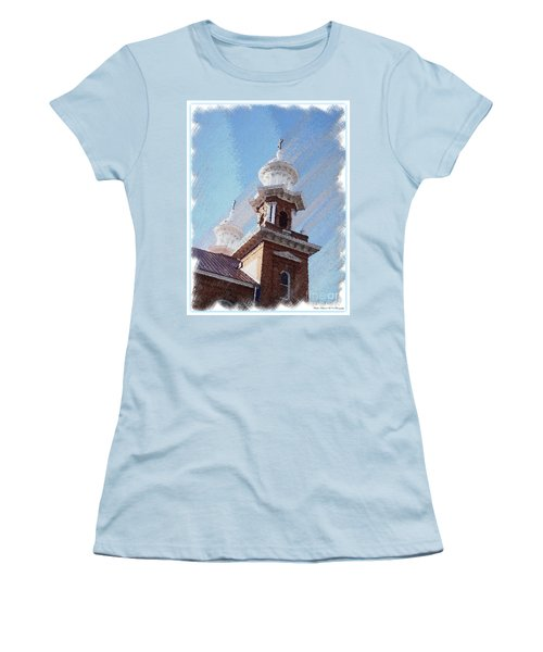 Historic Church Steeples Women's T-Shirt (Athletic Fit)