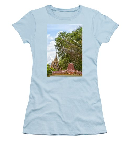 Hua Hin Temple 49 Women's T-Shirt (Athletic Fit)