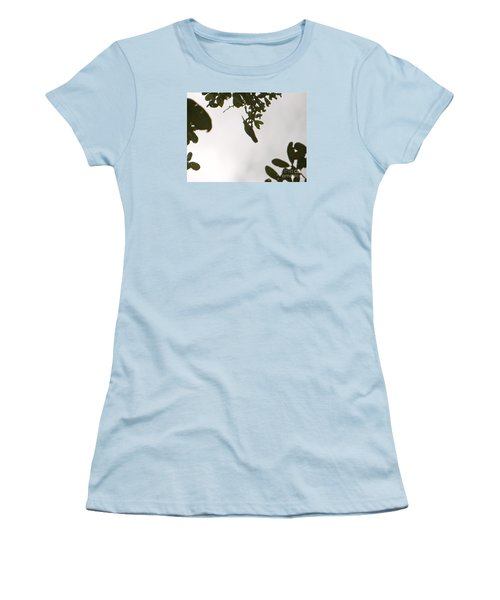 Women's T-Shirt (Junior Cut) featuring the photograph Hummingbird Silhouette 1 by Joy Hardee