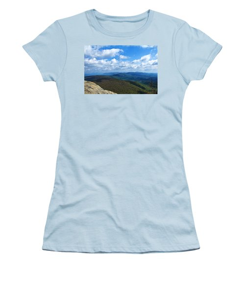 Humpback Rocks View North Women's T-Shirt (Athletic Fit)