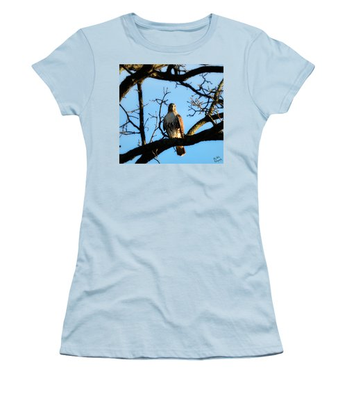 Women's T-Shirt (Junior Cut) featuring the photograph Hungry by Ally  White