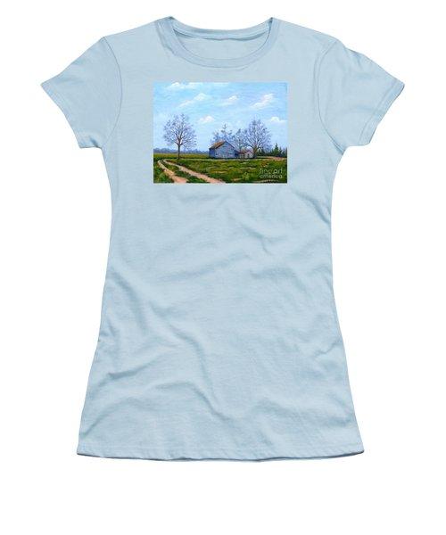 Hwy 302 Farm Women's T-Shirt (Athletic Fit)