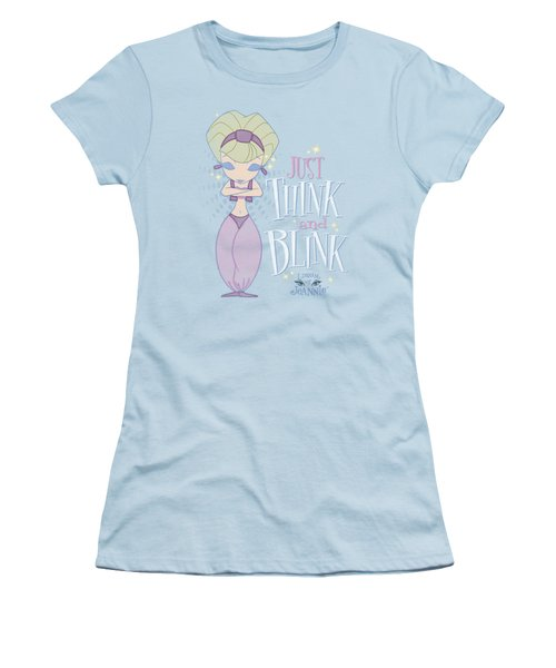 I Dream Of Jeannie - Think And Blink Women's T-Shirt (Athletic Fit)