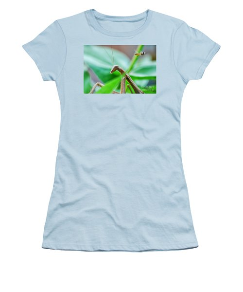 Women's T-Shirt (Junior Cut) featuring the photograph I See You by Thomas Woolworth