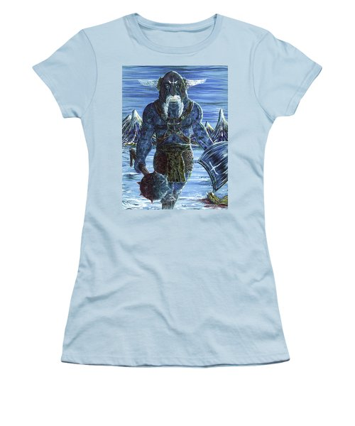 Ice Viking Women's T-Shirt (Athletic Fit)