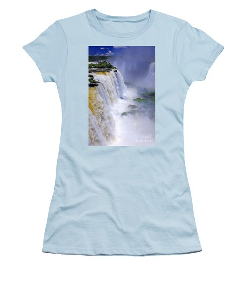 Iguazu Falls IIi Women's T-Shirt (Athletic Fit)