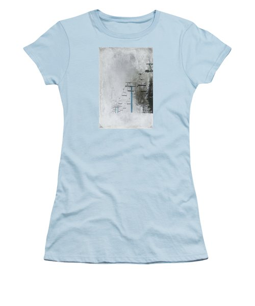 In Anticipation Women's T-Shirt (Junior Cut) by Marilyn Wilson