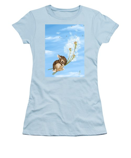In The Air Women's T-Shirt (Junior Cut) by Veronica Minozzi