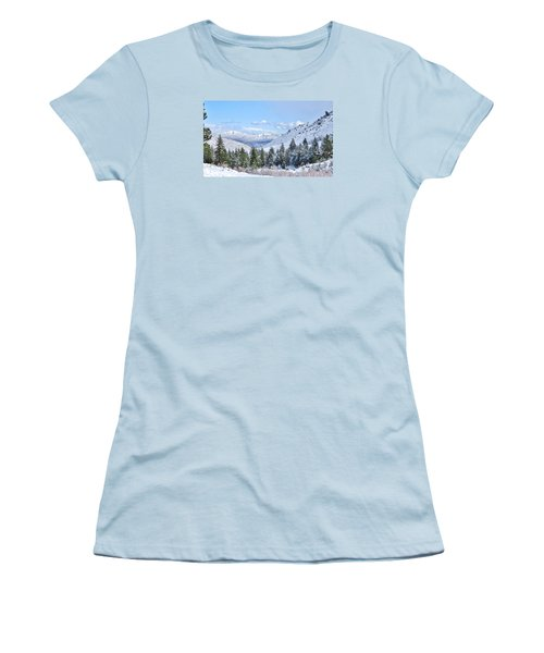 In The Canyon Women's T-Shirt (Junior Cut) by Marilyn Diaz