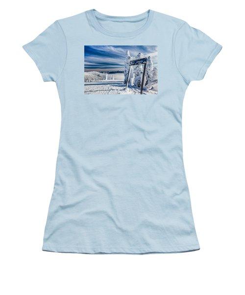 Inspiration Women's T-Shirt (Junior Cut) by Aaron Aldrich
