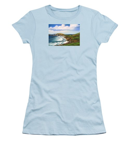 Dingle Peninsula Irish Coastline Women's T-Shirt (Athletic Fit)