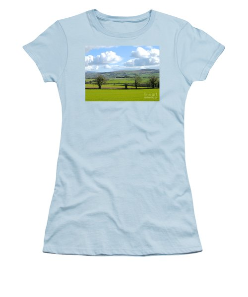 Women's T-Shirt (Junior Cut) featuring the photograph Irish Spring by Suzanne Oesterling