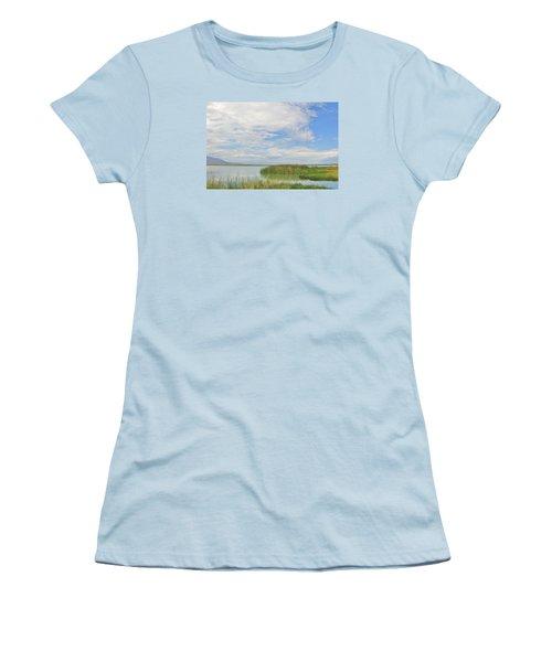 Island Peace Women's T-Shirt (Junior Cut) by Marilyn Diaz