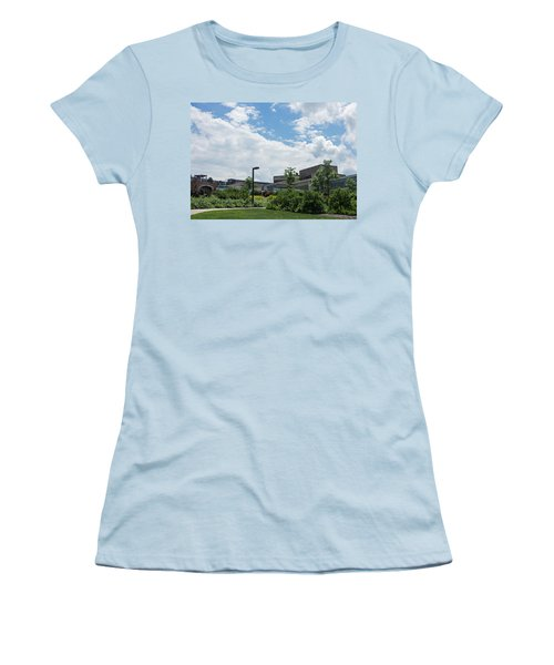 Ithaca College Campus Women's T-Shirt (Athletic Fit)