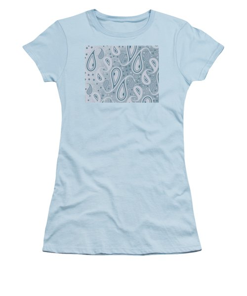 It's Raining Paisley Series 7 Women's T-Shirt (Athletic Fit)