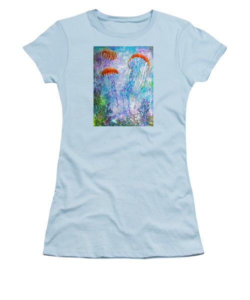 Jellies Women's T-Shirt (Junior Cut) by Janet Immordino