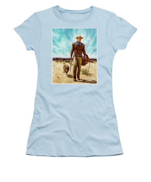 John Wayne Hondo Women's T-Shirt (Athletic Fit)